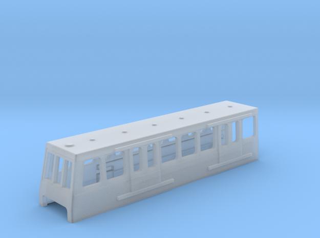 N Gauge DLR in Smooth Fine Detail Plastic