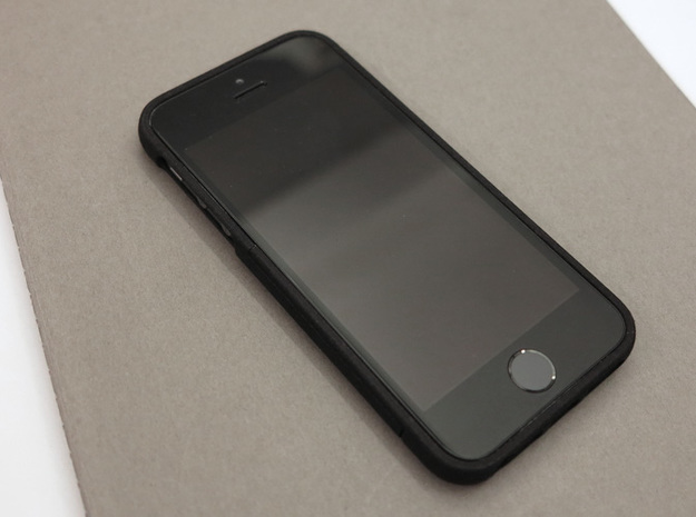 slim case for iPhone 5/5s - Bottom in Black Strong & Flexible