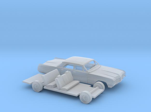1/87 1964 Buick Wildcat Sedan Kit in Smooth Fine Detail Plastic