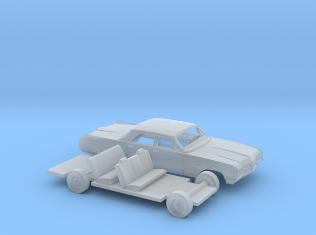 1/160 1964 Buick Wildcat Sedan Kit in Smooth Fine Detail Plastic