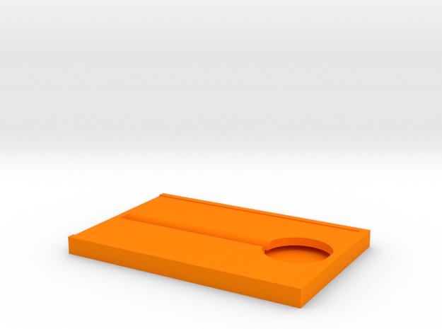 Cutting board in Orange Processed Versatile Plastic