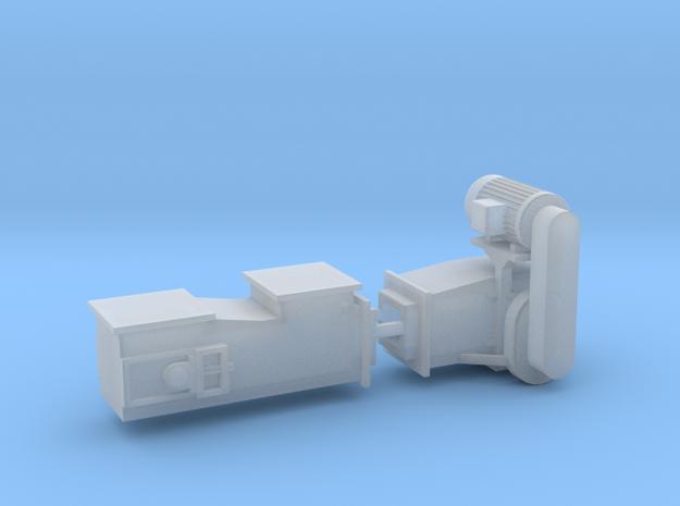 1/64 Drag Conveyor Set Flat in Smooth Fine Detail Plastic