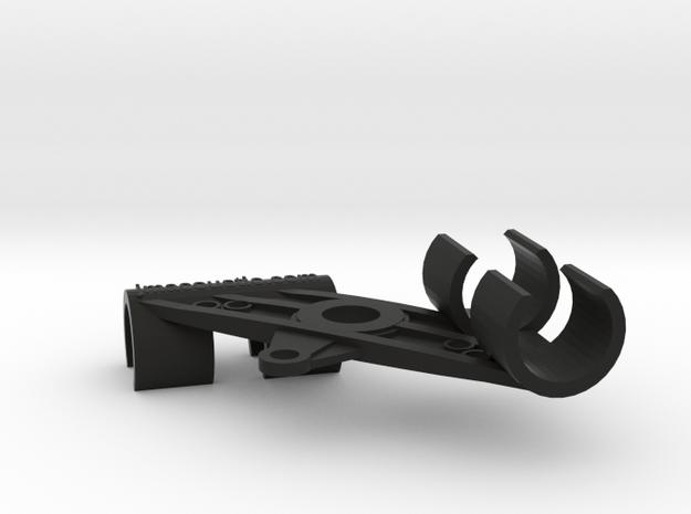 XY Stereo Mic Clip 25mm in Black Natural Versatile Plastic