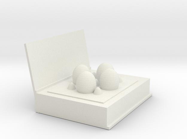 egg box(book) in White Natural Versatile Plastic
