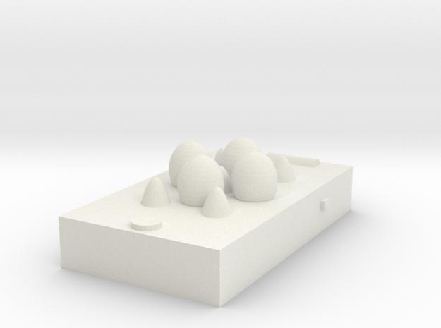 egg box(smart phone) in White Natural Versatile Plastic