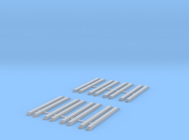 Roos/ Rnoos Auflagen Scale TT in Smooth Fine Detail Plastic