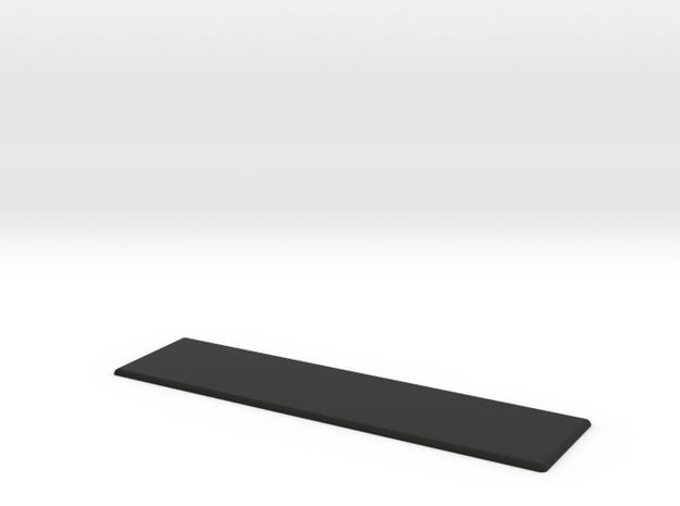 Custom WeatherTech Liner Badge in Black Premium Versatile Plastic