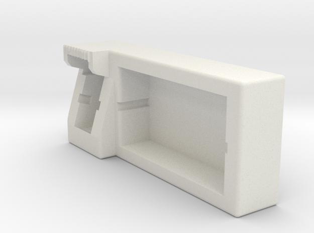Multifunctional desktop small cabinets1 in White Natural Versatile Plastic