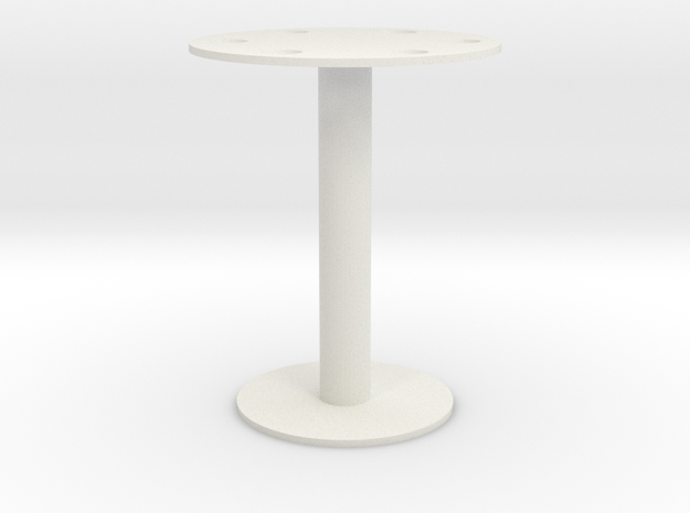 Umbrella stand in White Natural Versatile Plastic