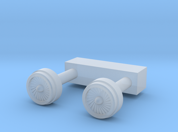 6mm Engine Pair in Smooth Fine Detail Plastic