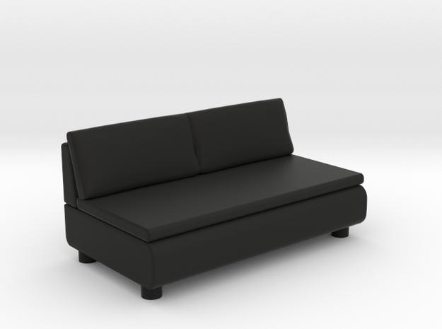 Sofa 2018 model 8 in Black Natural Versatile Plastic