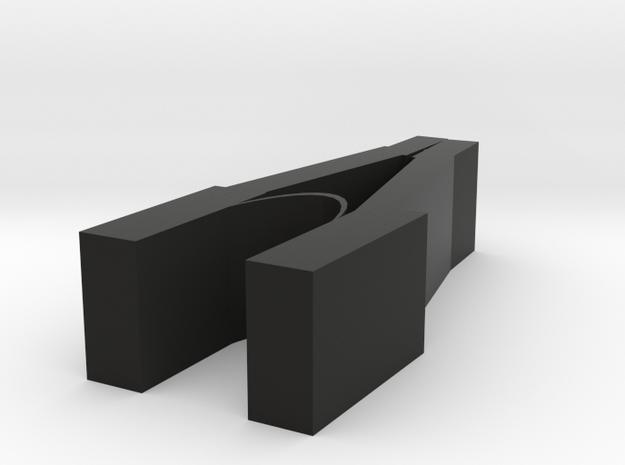 tableware Clip in Black Natural Versatile Plastic
