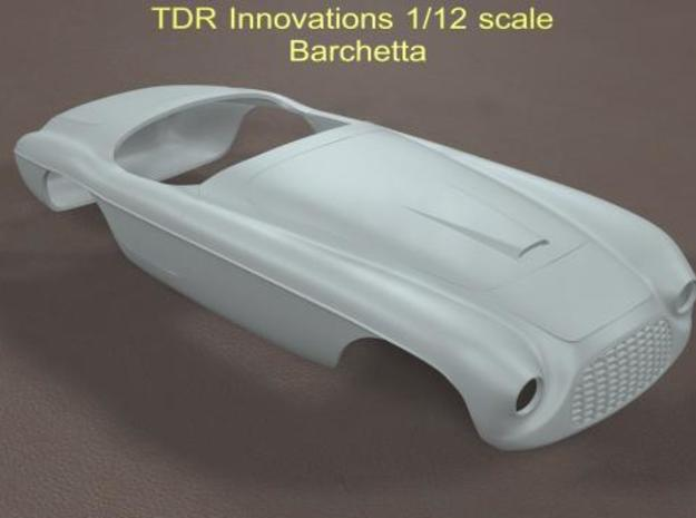 1/12 Barchetta in White Natural Versatile Plastic