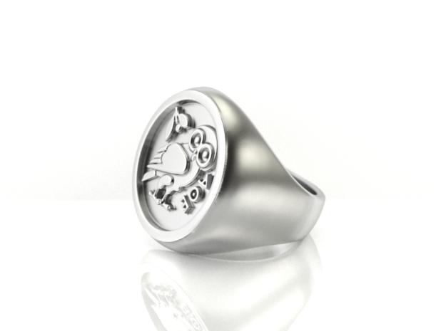 Owl of Wisdom ring