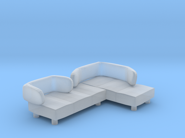 Sofa 2018 model 13 in Smooth Fine Detail Plastic