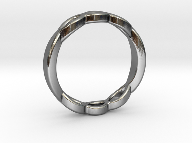 ring shapeways in Polished Silver: 1.5 / 40.5