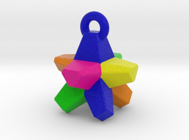 Everlasting Gobstopper - Pendant in Full Color Sandstone