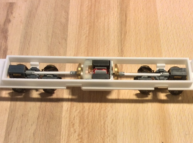 Kawasaki LRV chassis for IHP model in White Natural Versatile Plastic