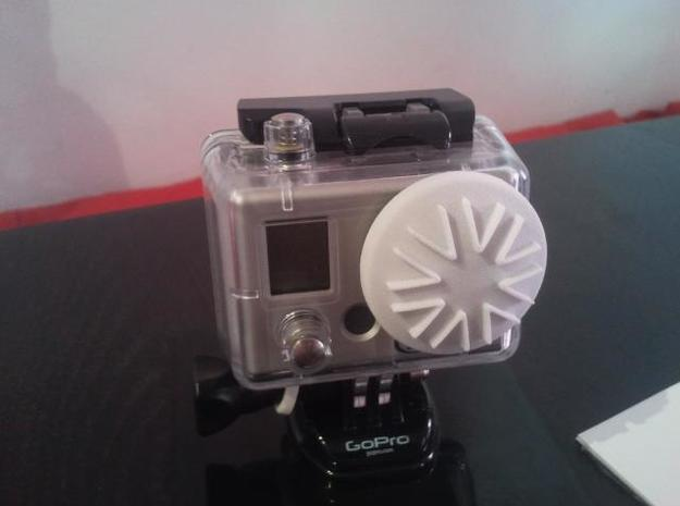 GoPro Housing Lens Cap 3d printed Cap Version 1