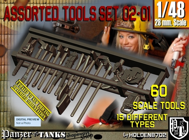1/48 Assorted Tools Set02-01