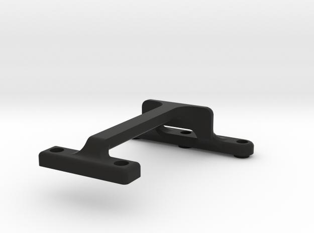 XT-2 Motor_Brace in Black Natural Versatile Plastic