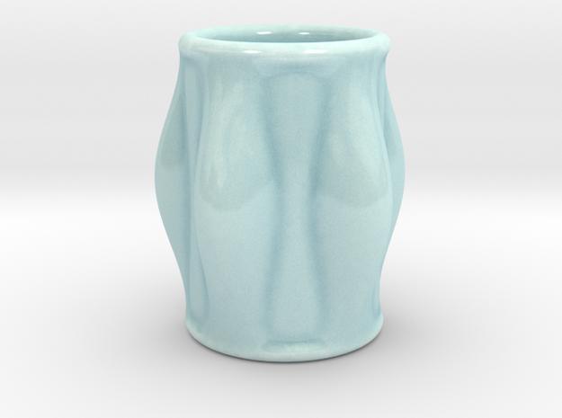 DRAW shot glass - Super Sam in Gloss Celadon Green Porcelain