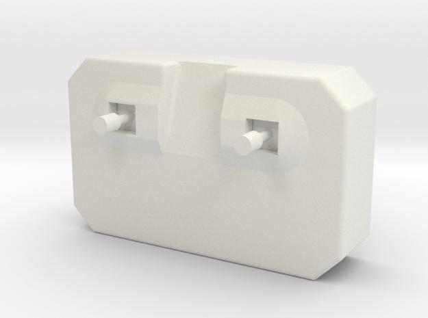 remote control charm in White Natural Versatile Plastic