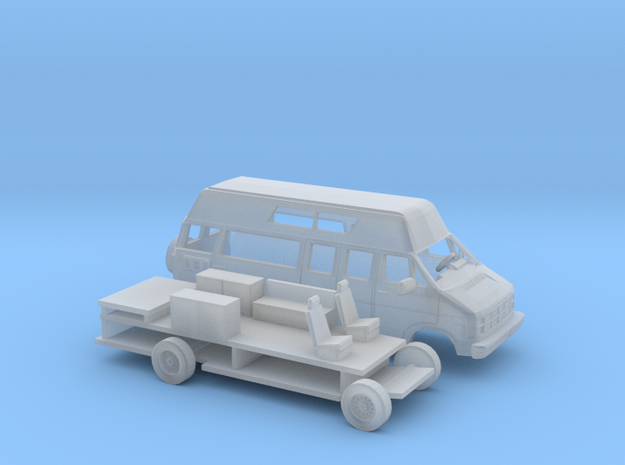 1/160 1986-93 Dodge Ram Van  RV Kit in Frosted Ultra Detail