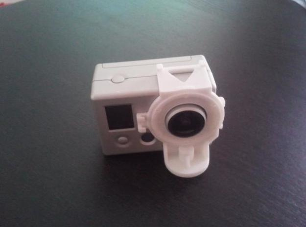 GoPro Tripod Mount in White Natural Versatile Plastic