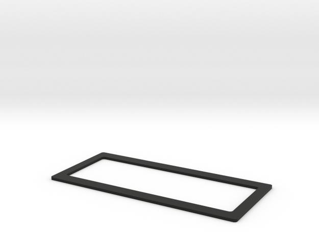 Clavinet D6 bezel in Black Natural Versatile Plastic