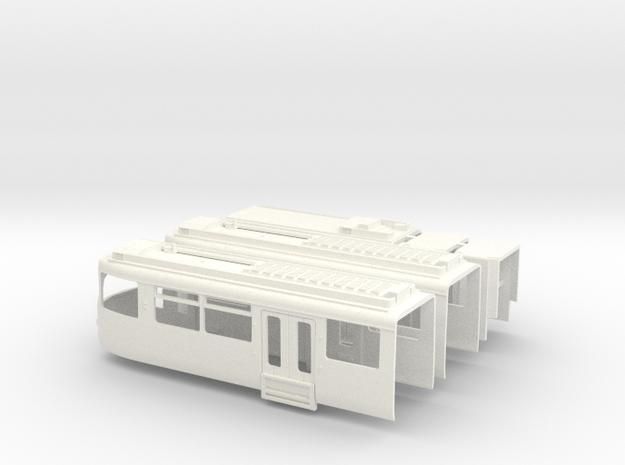 Gehäuse GT8SU in White Processed Versatile Plastic