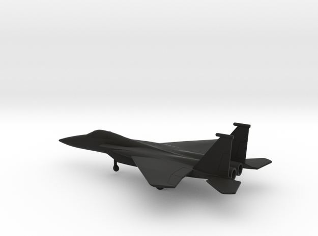 McDonnell Douglas F-15A Eagle in Black Natural Versatile Plastic: 1:200