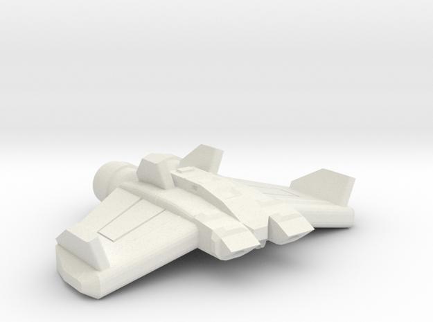 Midge Swarm Fighter in White Natural Versatile Plastic