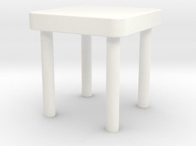 椅子.stl in White Processed Versatile Plastic