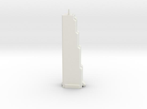Trade Tower - Seoul (1:4000) in White Natural Versatile Plastic