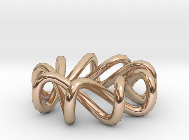 RING RING in 14k Rose Gold: Small