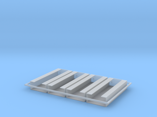 MG15 Ammo Racks in Smooth Fine Detail Plastic