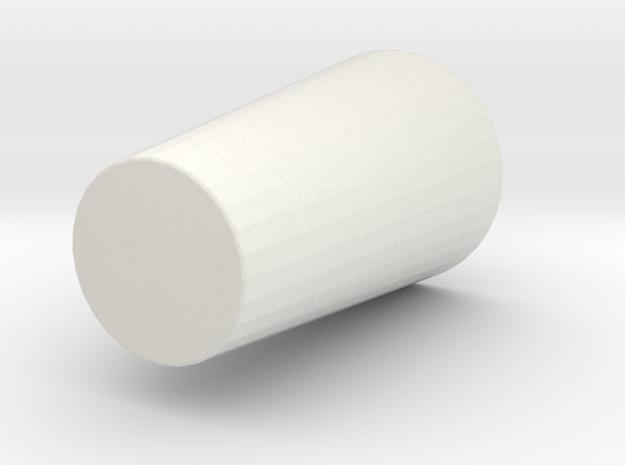 cup2 in White Natural Versatile Plastic