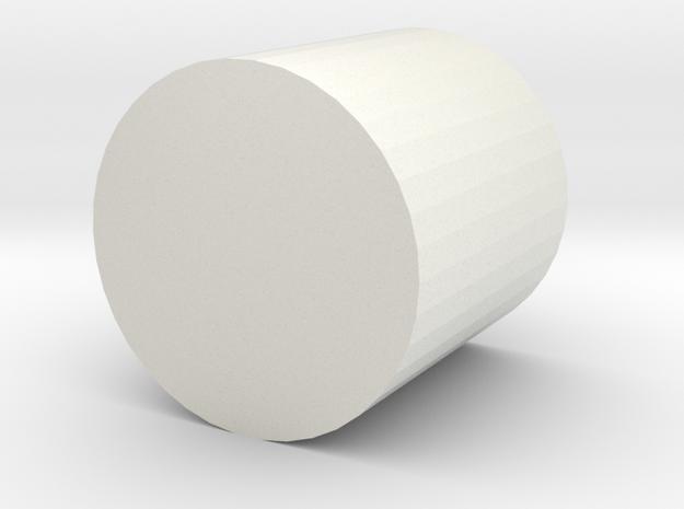 cup4 in White Natural Versatile Plastic