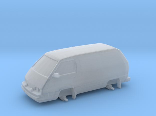 """1/87 Scale 4x4 Mini Van """"Panel Toy"""""""
