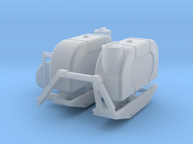1/64 Saddle tanks in Smooth Fine Detail Plastic