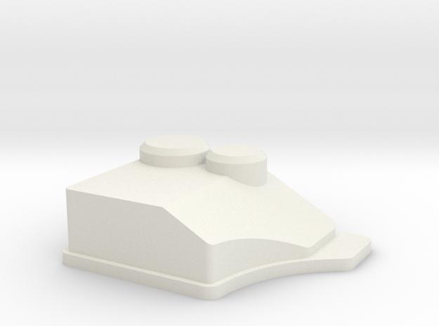 RC4WD - Blazer Airbox in White Natural Versatile Plastic
