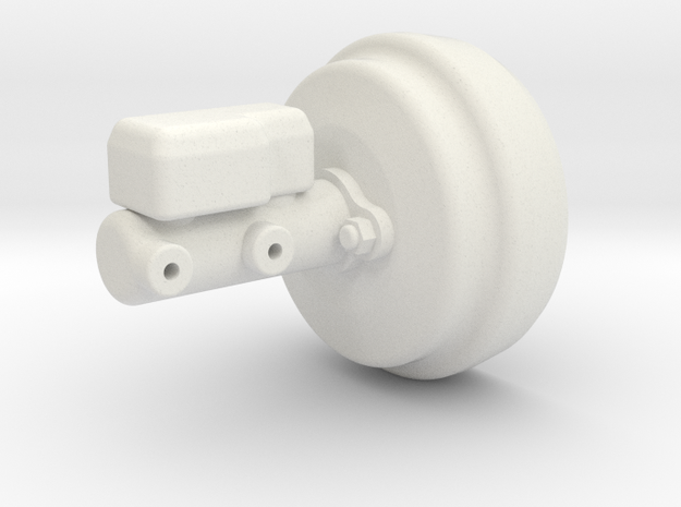 RC4WD Brakes in White Natural Versatile Plastic