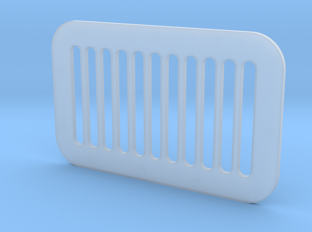 1.6 GRILLE CARRE ECUREUIL in Smooth Fine Detail Plastic