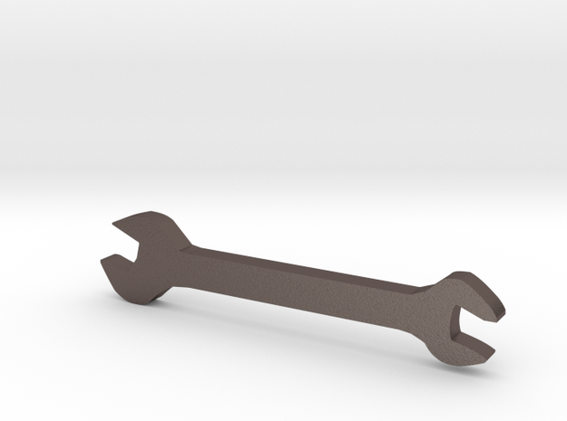 扳手.STL in Stainless Steel: Medium