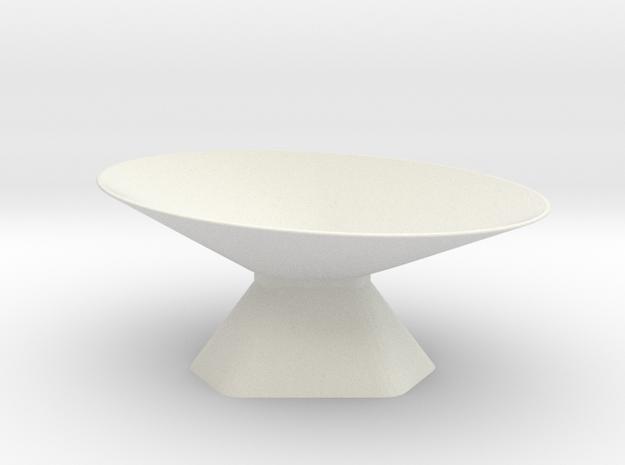 Dish 3 of 4 in White Natural Versatile Plastic