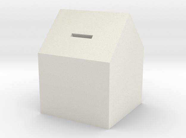 106102227HOUSE in White Natural Versatile Plastic