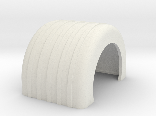 Fender single ribbed in White Strong & Flexible