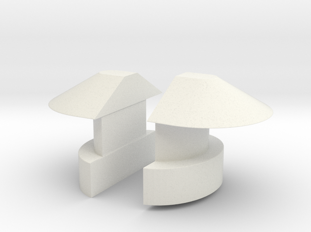 1/11 DKM UBoot VIICNavigation light SET in White Strong & Flexible