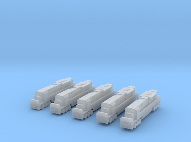 Modified 1:700 Scale Based Engines
